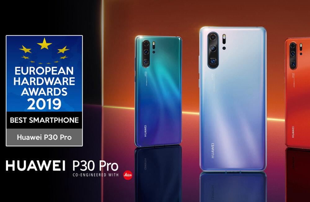 Huawei P30 seeria nutitelefon tegi uue rekordi, ületades 10 miljoni toote müügipiiri rekordajaga