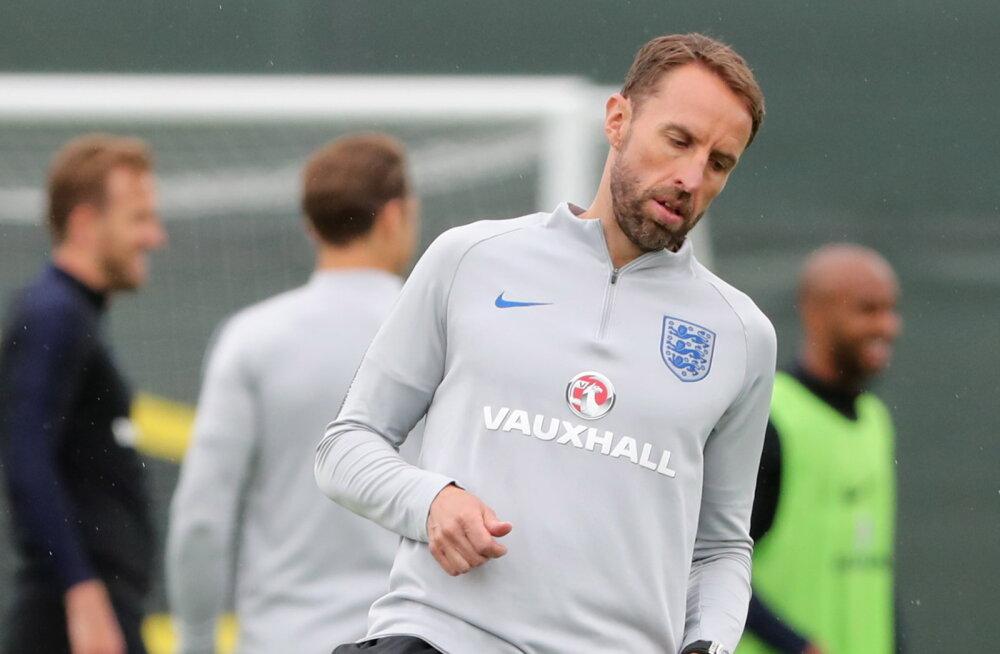 Inglismaa koondise peatreener ei kavatse poolfinaali jaoks muudatusi teha
