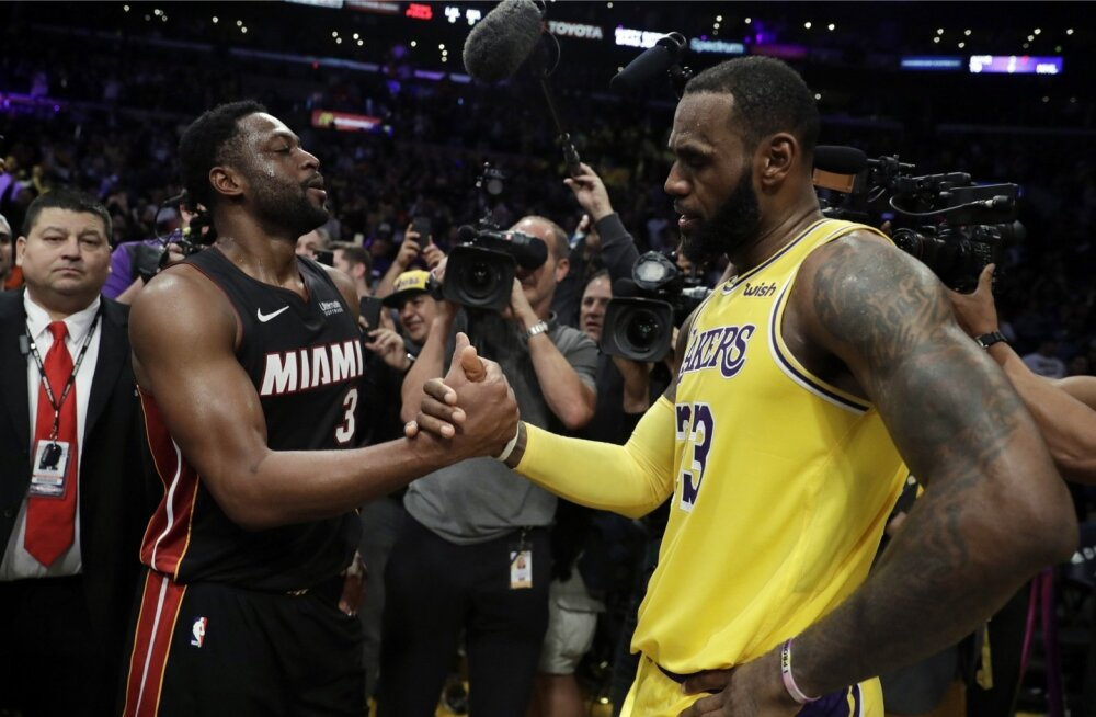 LeBron James ja Dwyane Wade on koos võitnud mitmeid tiitleid