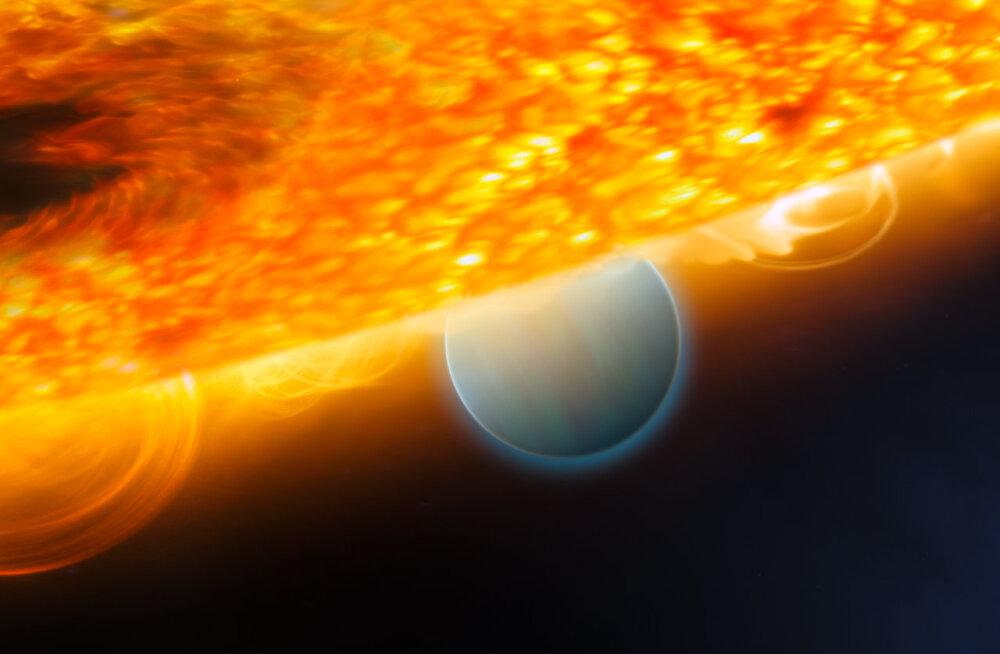 Meile üsna lähedal asuval eksoplaneedil puhub tuul 8700 km/h!