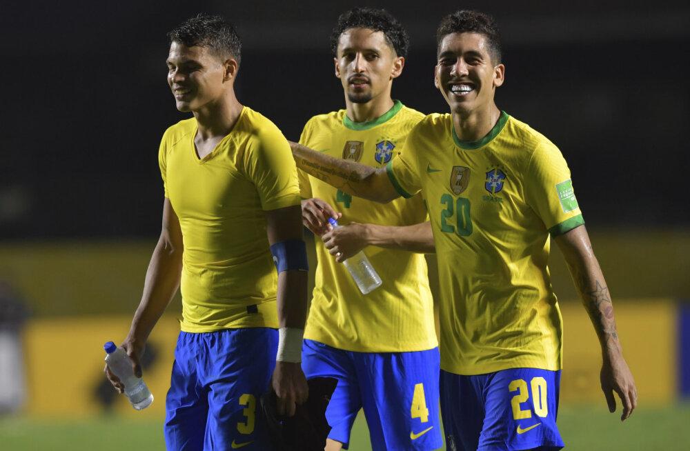 Roberto Firmino aitas Brasiilia MM-valiksarjas järjekordse võiduni