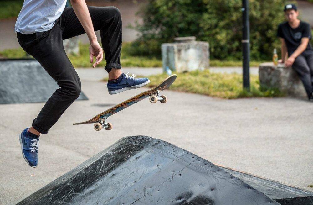 У экстремалов есть надежда? В Таллинне появится два новых скейт-парка