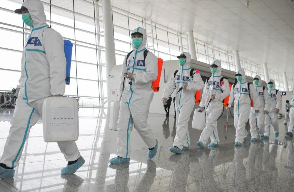 Värske statistika Hiinast: neljal viiest nakatunust ei ilmne ühtegi haigusele omast sümptomit