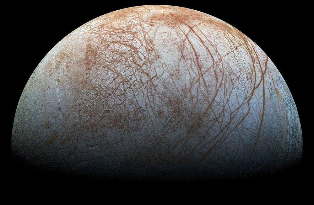 Jupiteri kuu ookean võib olla elust tulvil