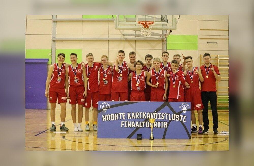 Audentese SK võidukas U18 meeskond
