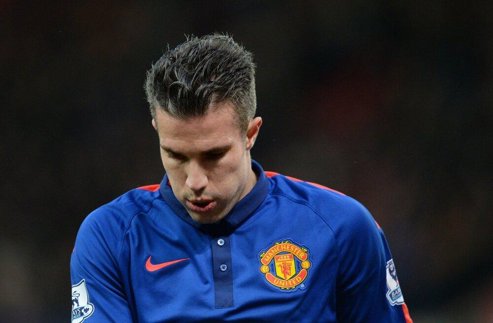 Manchester United asendab Van Persie Cavaniga?