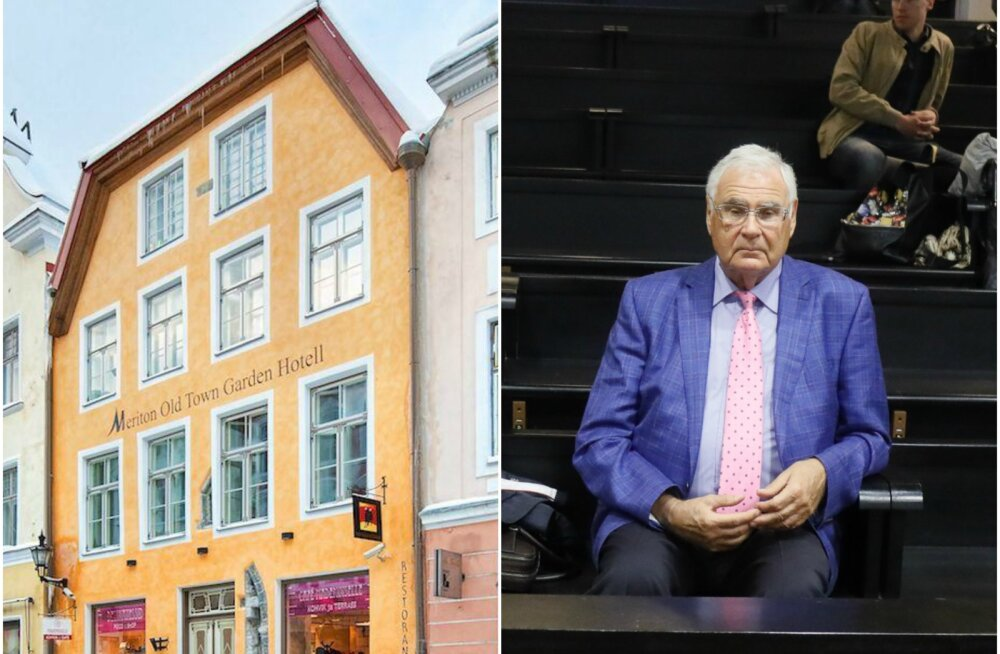 FOTOD: Kas mees tõmbab Eestis otsi kokku? Legendaarne ärimees Alexander Kofkin müüb vanalinnas kallist maja