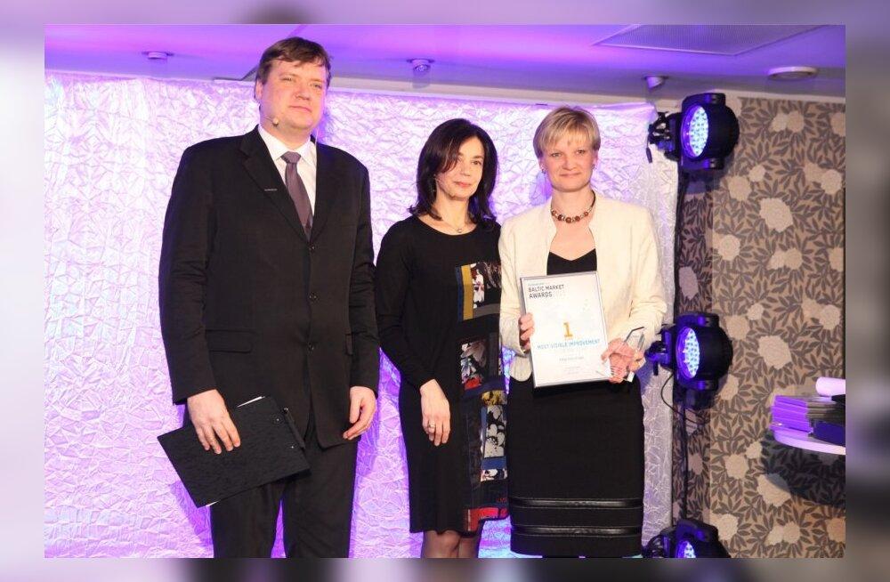 Tallinna Vesi, Baltic Market Awards 2013
