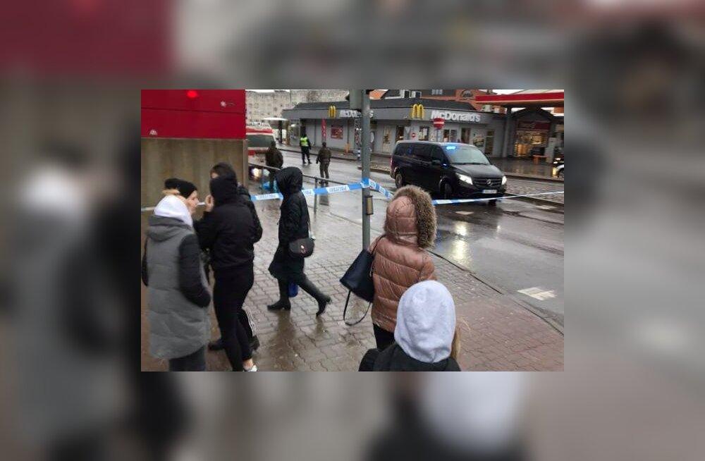 ФОТО | Со смотровой вышки нарвского торгового центра Astri упала девушка и скончалась на месте