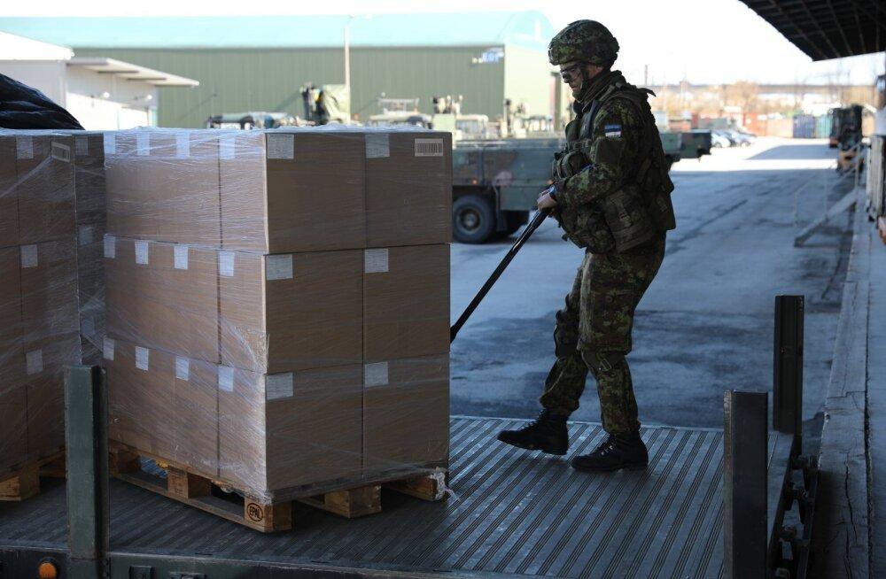 ФОТО: Эстония отправила в Мали продукты в качестве поддержки учебной миссии ЕС