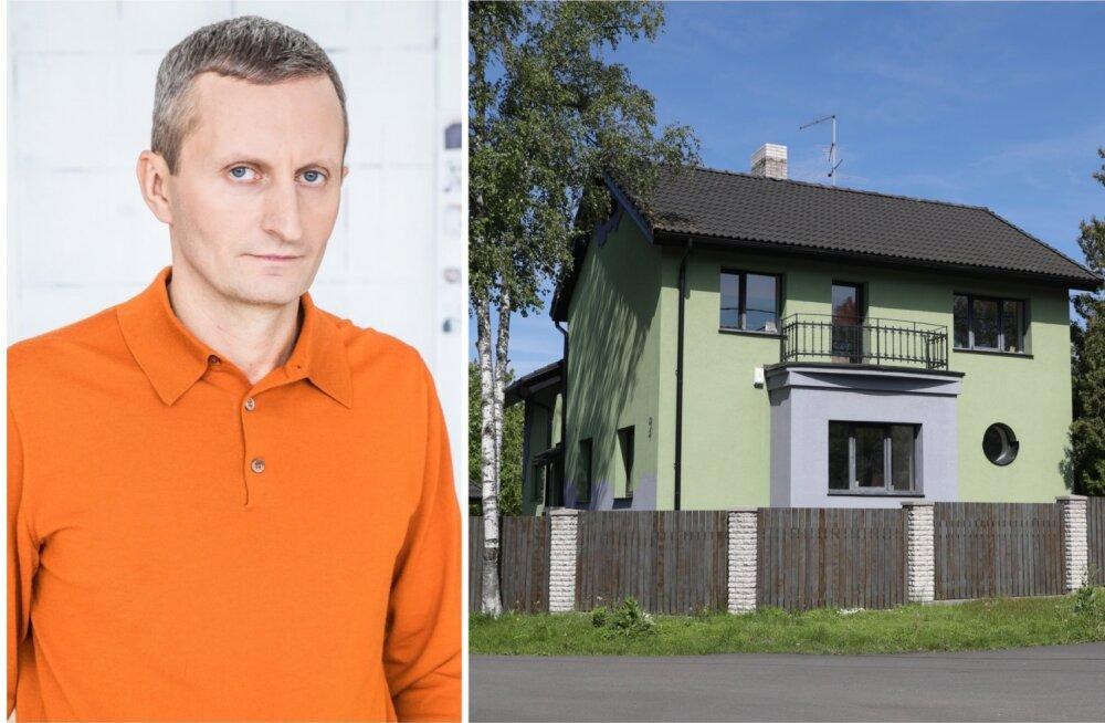 ФОТО: Элина Нечаева и Давид Пярнаметс расстались. Бизнесмен затеял в бывшем семейном гнездышке ремонт
