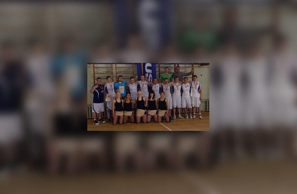 Aprillikuu spordiinfo: Ambla SK korvpallimeeskond on selle aasta Järvamaa meistermeeskond