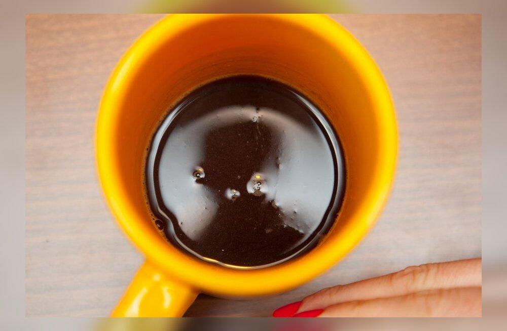 Ennusta oma tulevikku kohvipaksu pealt!