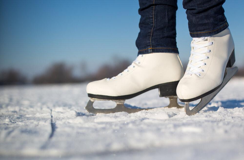 ЭР100 на коньках: речь президента можно посмотреть на катке Шнелли