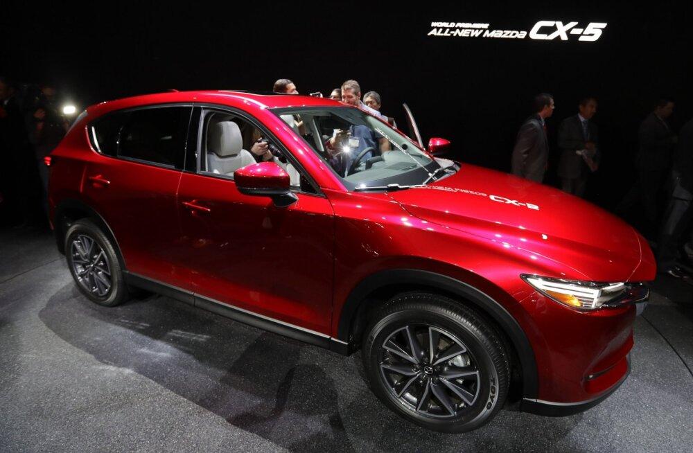 Motors24 proovisõit: uus Mazda CX-5 on uuendustest tulvil