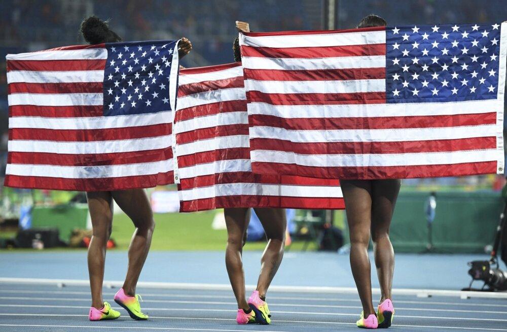 USA kergejõustikuliit kutsus üles olümpiamänge edasi lükkama
