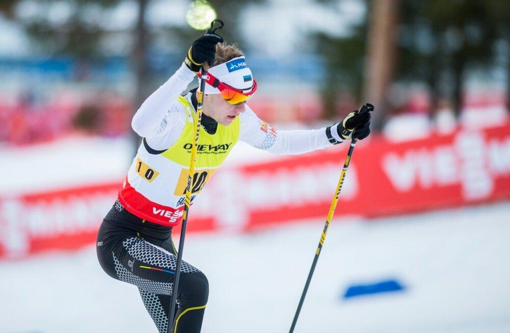 Kahevõistleja Kristjan Ilves rühib samm-sammult kõrgemasse konkurentsi.