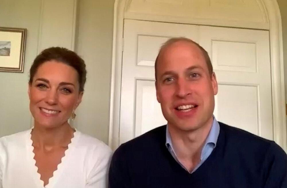 NUNNU KLÕPS | Kate ja William avalikustasid uue pildi lastest: vaata, kui suureks on pisikesed kuninglikud kasvanud!