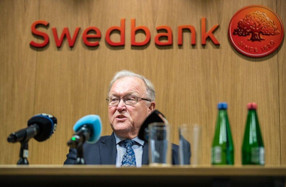 Swedbanki värskel nõukogu esimehel Göran Perssonil suured poliitilised kogemused.