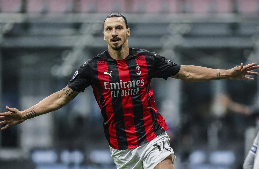 Klass on igavene: Zlatan Ibrahimovic vedas vägevas hoos Milani võidule linnarivaali Interi üle