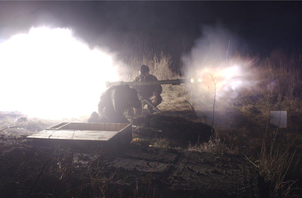 Ukraina teatas rünnakute tõrjumisest Donbassis ja vastasele suurte kaotuste tekitamisest