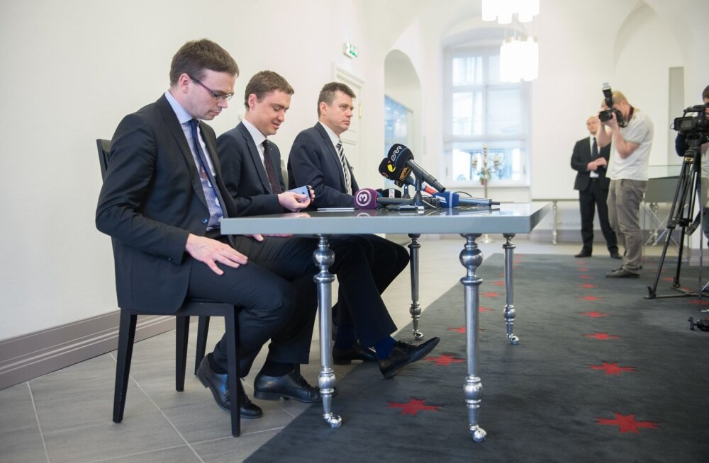 Koalisatsiooniläbirääkimiste pressikonverents