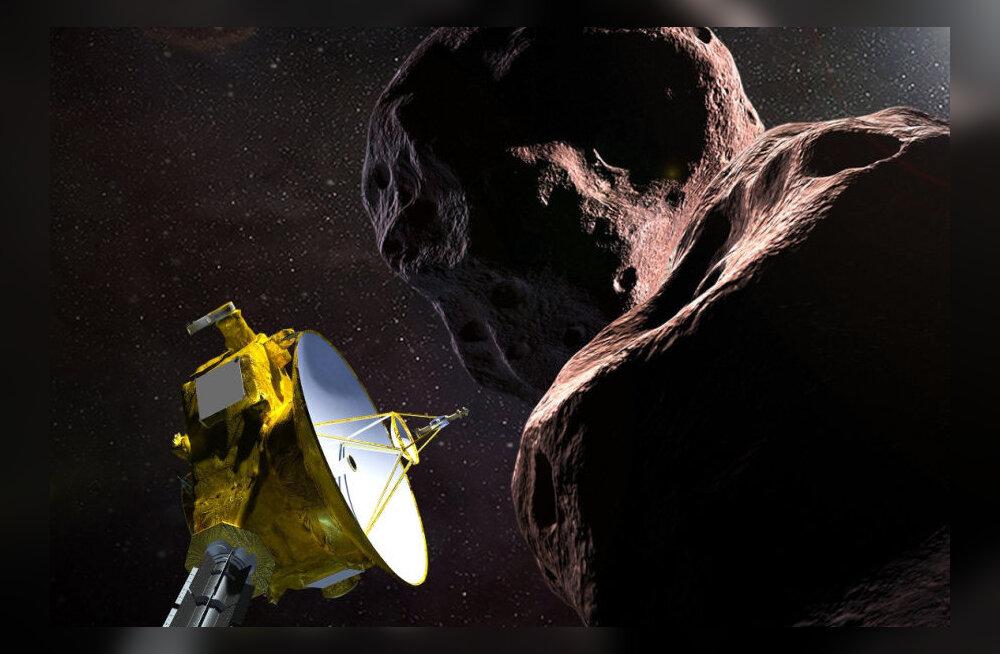 VAATA OTSE | NASA sond jõuab homme varahommikul Ultima Thuleni