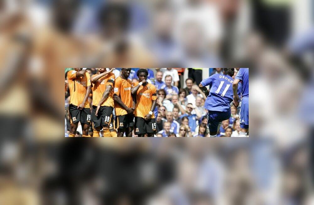 Didier Drogba (Chelsea) karistuslöögil