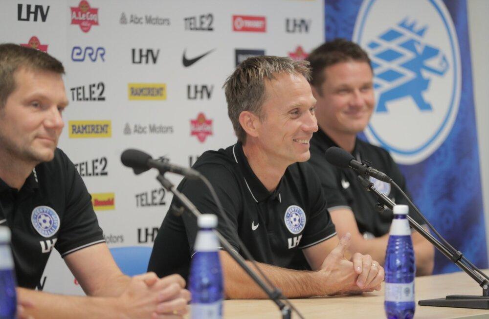 ФОТО: Новым главным тренером сборной Эстонии назначен Мартин Рейм