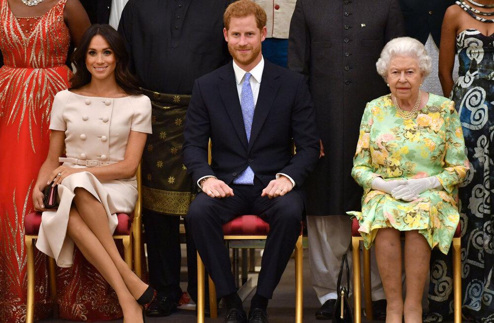 Harry ja Meghan on sattunud taaskord turmtule alla: kas te mõistate, kui vana on kuninganna?