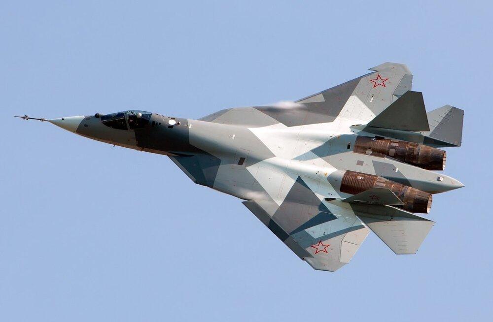 T-50: Venemaa ja India ühine vastus USA uusimatele hävitajatele taevas