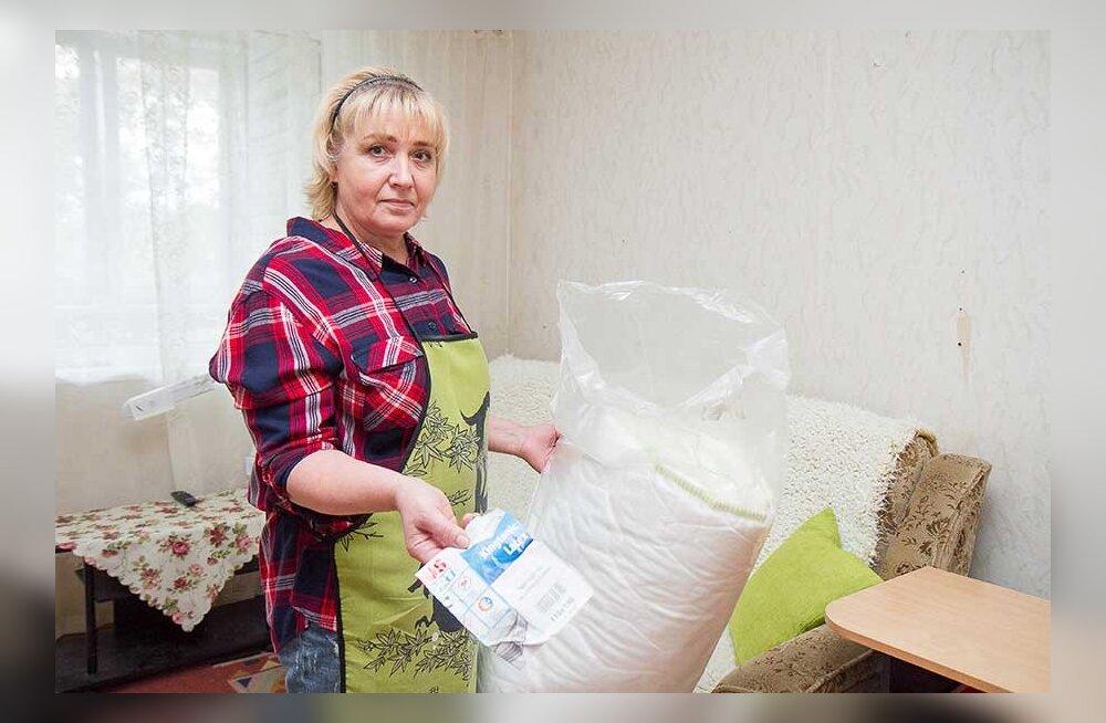 Матрас в мешке: полученный в магазине товар оказался не похож на заказанный