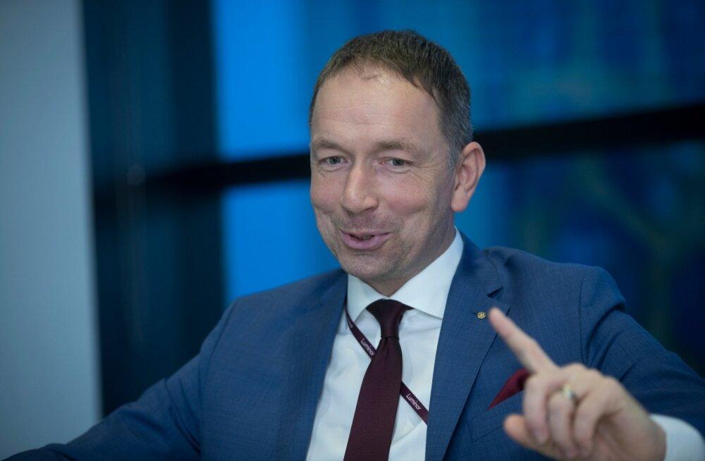 Luminori Eesti juht Gunnar Toomemets ütleb, et nende eesmärk pole saada Baltimaades mahu poolest suurimaks pangaks, kuid kasumi turuosa võiks küll olla üpris suur.