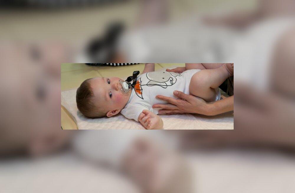Imikute massaaz ja hooldus