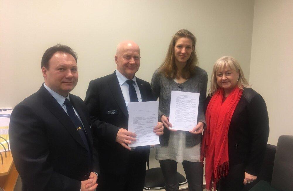 EMA ja Keskkonnainspektsioon sõlmisid koostöölepingu 21.12.2018