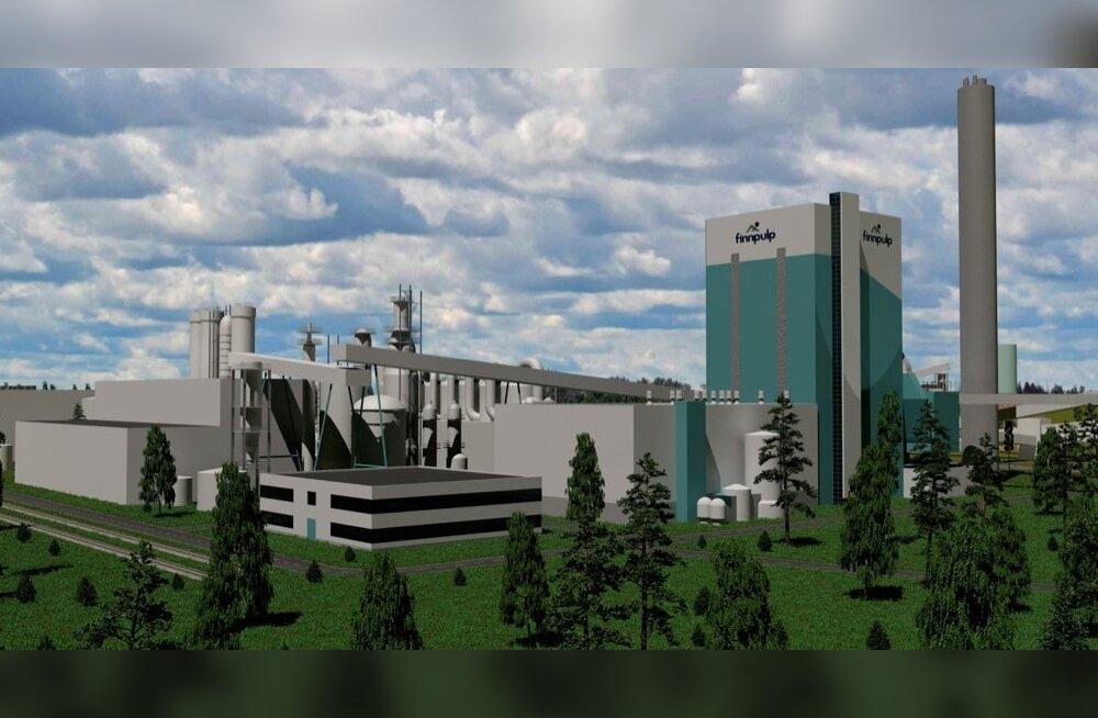 Finnpulpi Kuopiosse plaanitud suur tselluloositehas