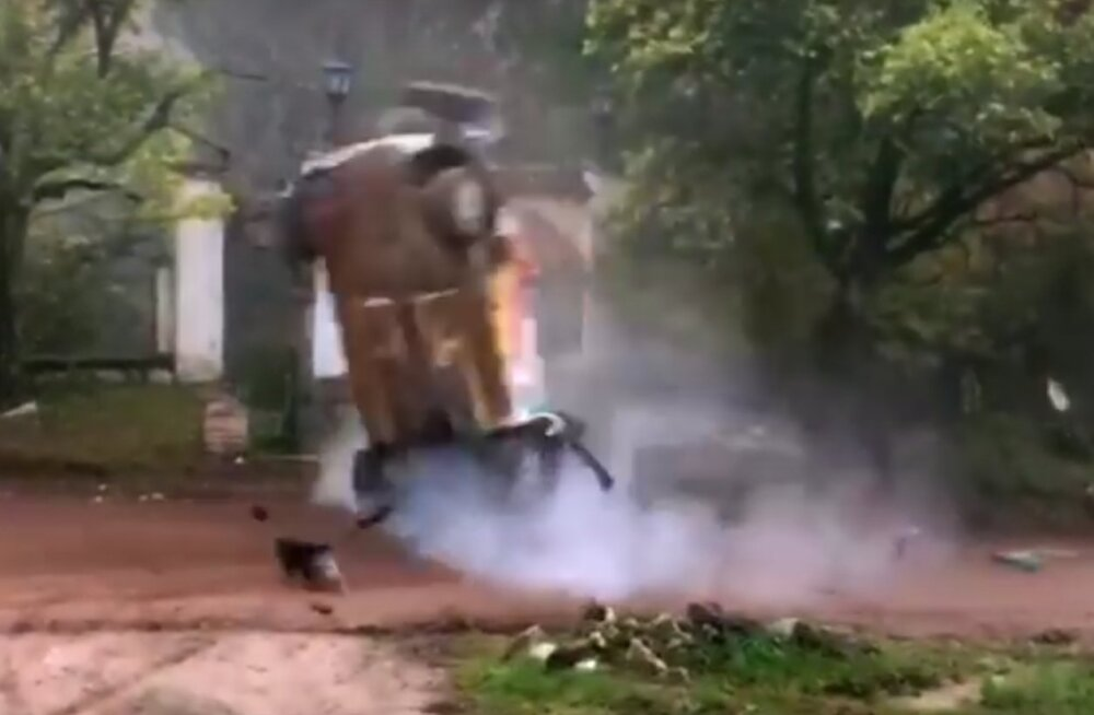 VIDEO | Mitte ainult Lappi... Argentinas käis julmalt üle katuse ka Östbergi klassis sõitnud Boliivia rallimees
