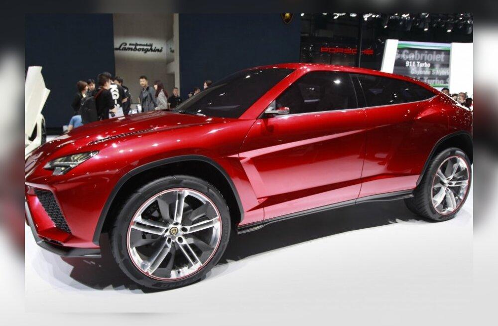 Lamborghini maastur ilmub alles 2017. aastal