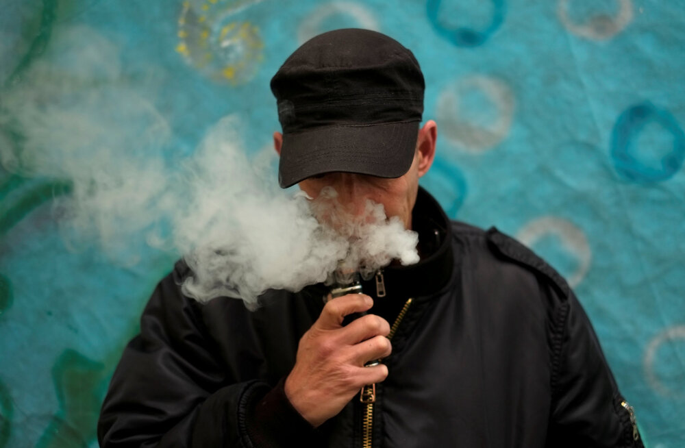E-sigaretiga kanepi suitsetajaid ohustab müstiline kopsuhaigus?