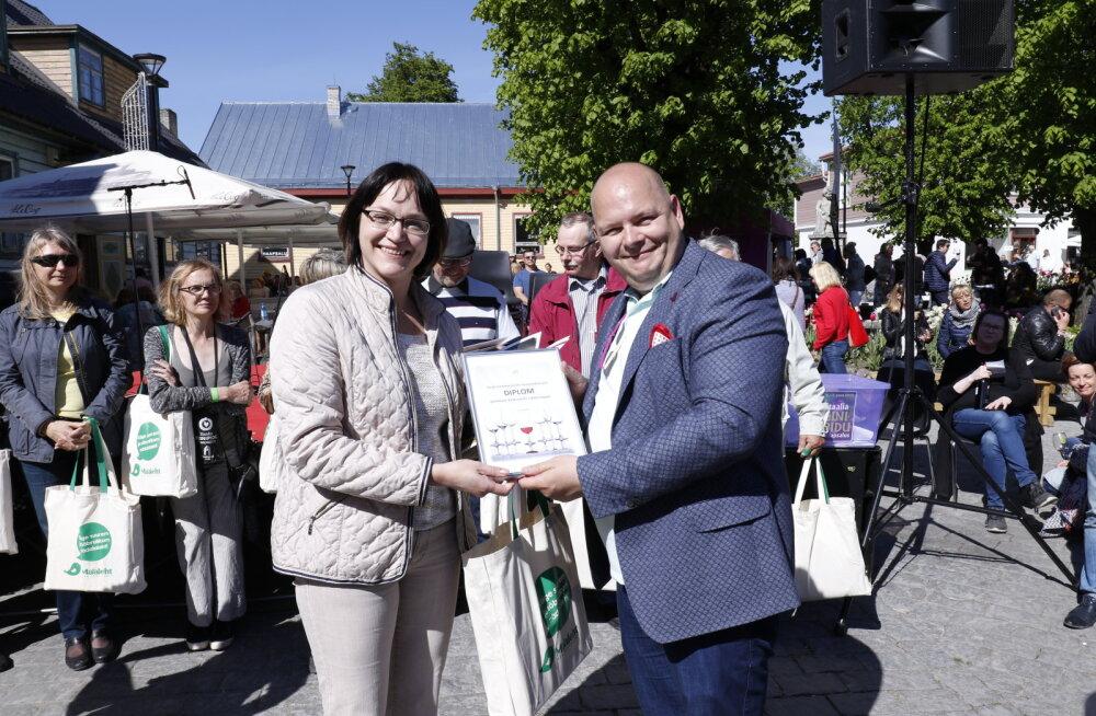 FOTOD ja VIDEOD: Eesti parim koduveinimeister on Katrin Ratt