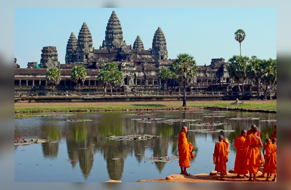 Reisikiri Kambodžast, 8. osa: Jumalate mäed Angkoris