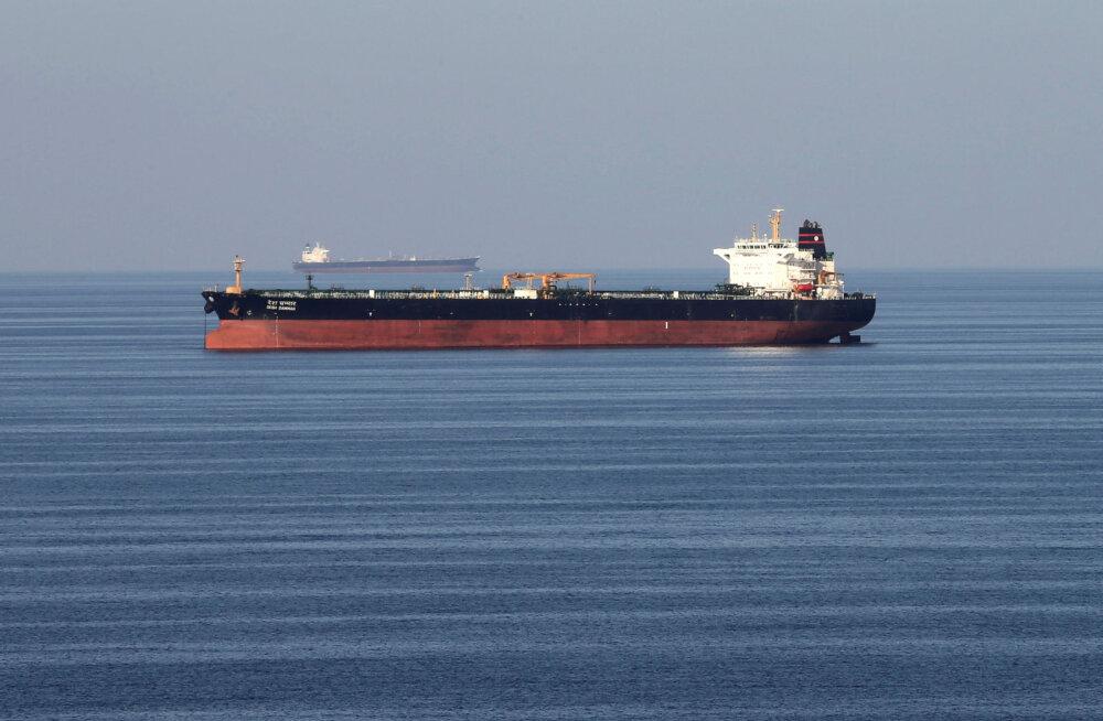 Iraan teatas naftatankeri hõivamisest
