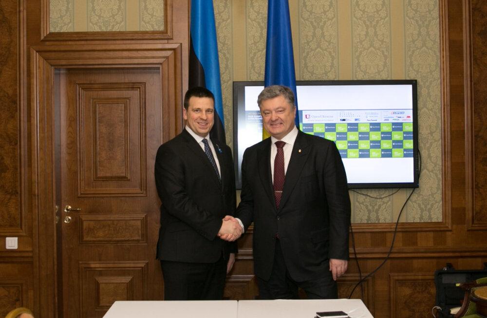 Ратас: будущее Украины определяет архитектуру безопасности Европы на следующие десятилетия