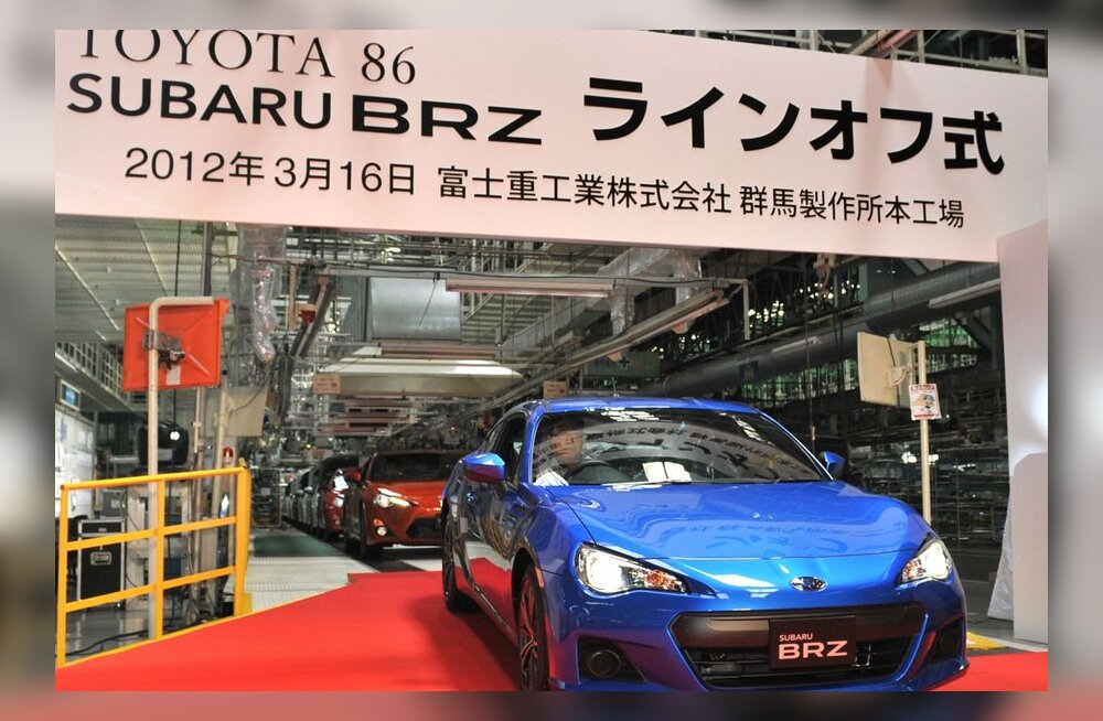 Proovisõit: Subaru BRZiga Nice'is nalja nabani!