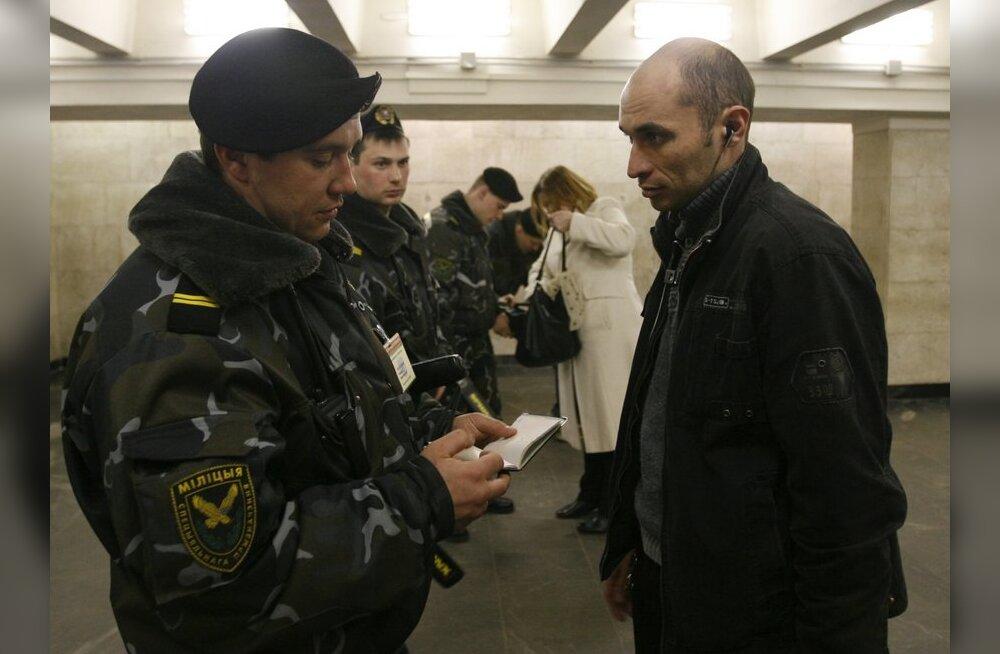 Minskis vahistati kaks arvatavat pommipanijat