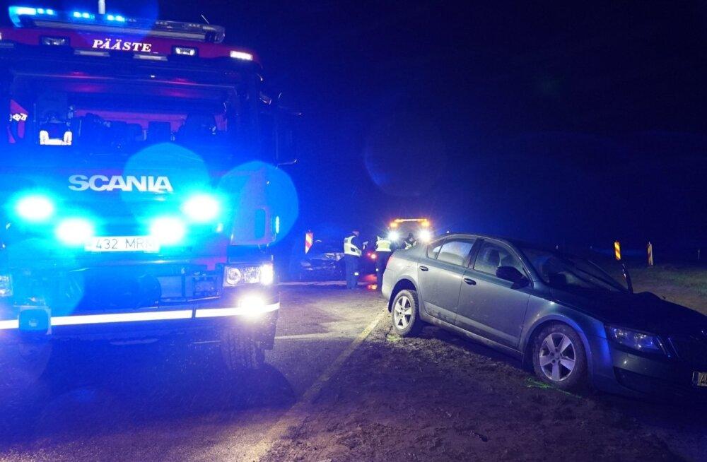 Liiklusõnnetus Lääne-Virumaal 28. novembri hilisõhtul.