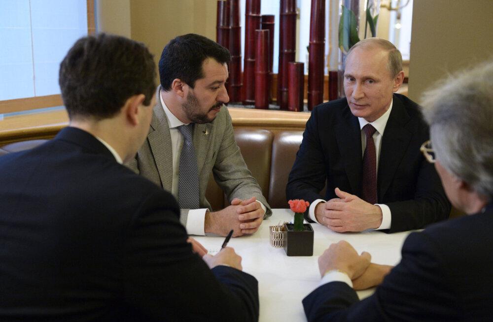"""Salajane lindistus, mis näitab, kuidas Venemaa püüdis pumbata miljoneid """"Euroopa Trumpile"""", EKRE liitlasele"""