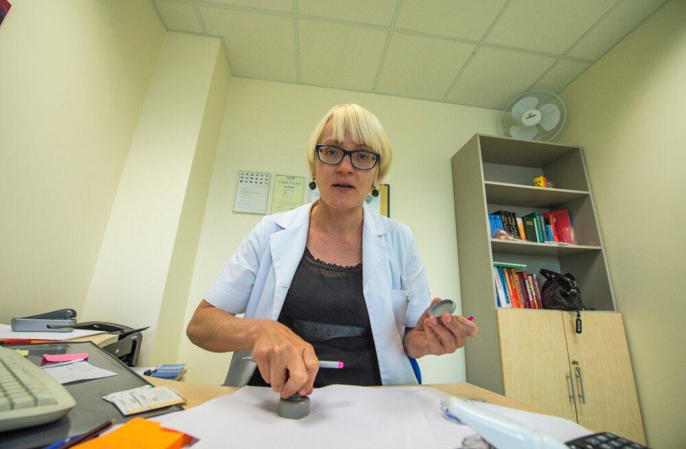 Eesti Perearstide Seltsi juht dr Le .