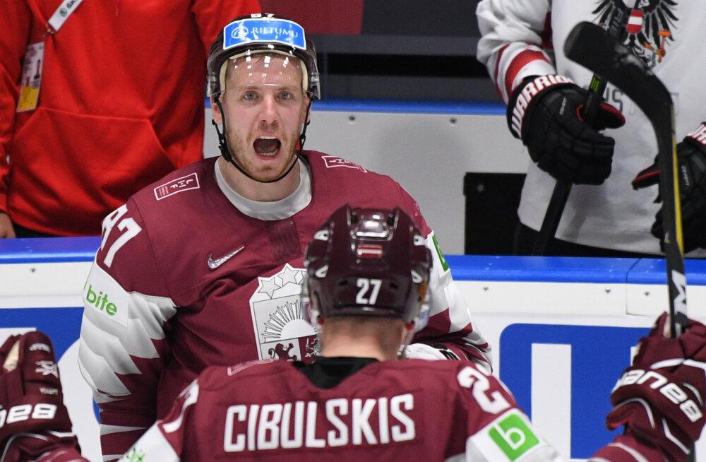 Läti jäähokimehed