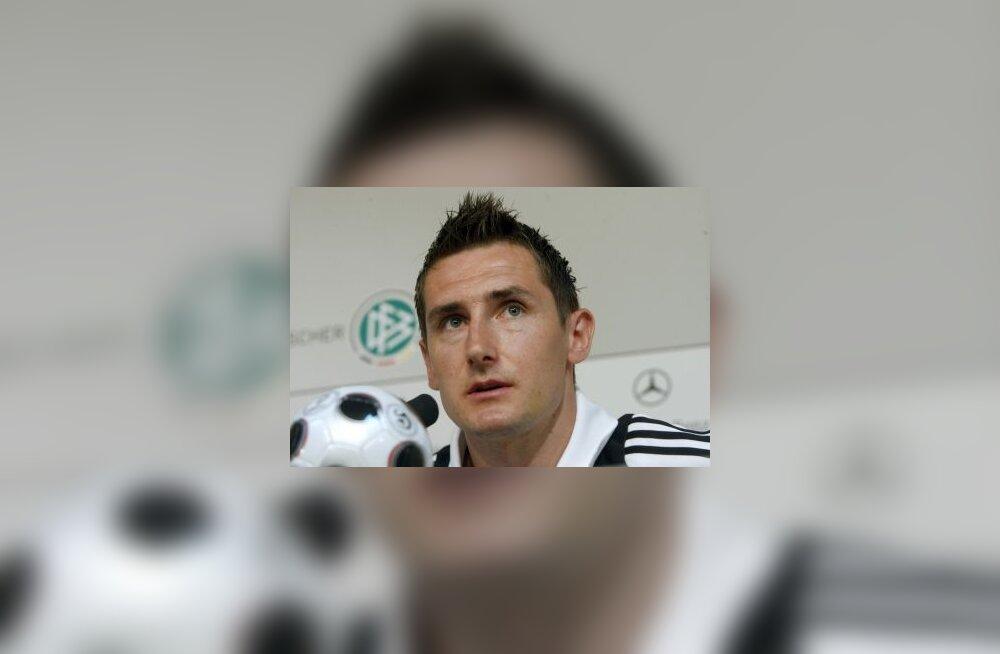Saksamaa ründaja Miroslav Klose